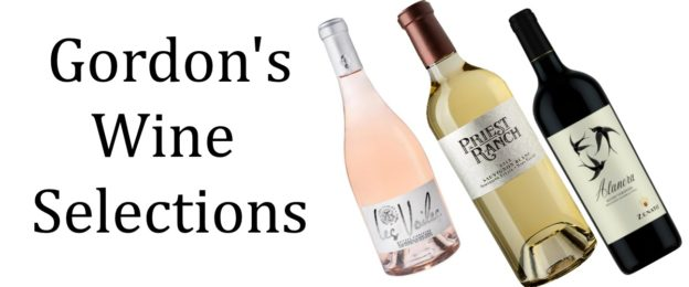 Gordon's wine selections